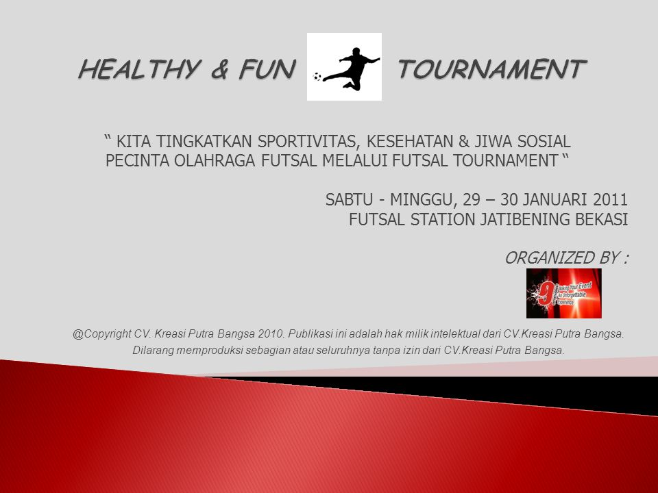 HEALTHY & FUN TOURNAMENT