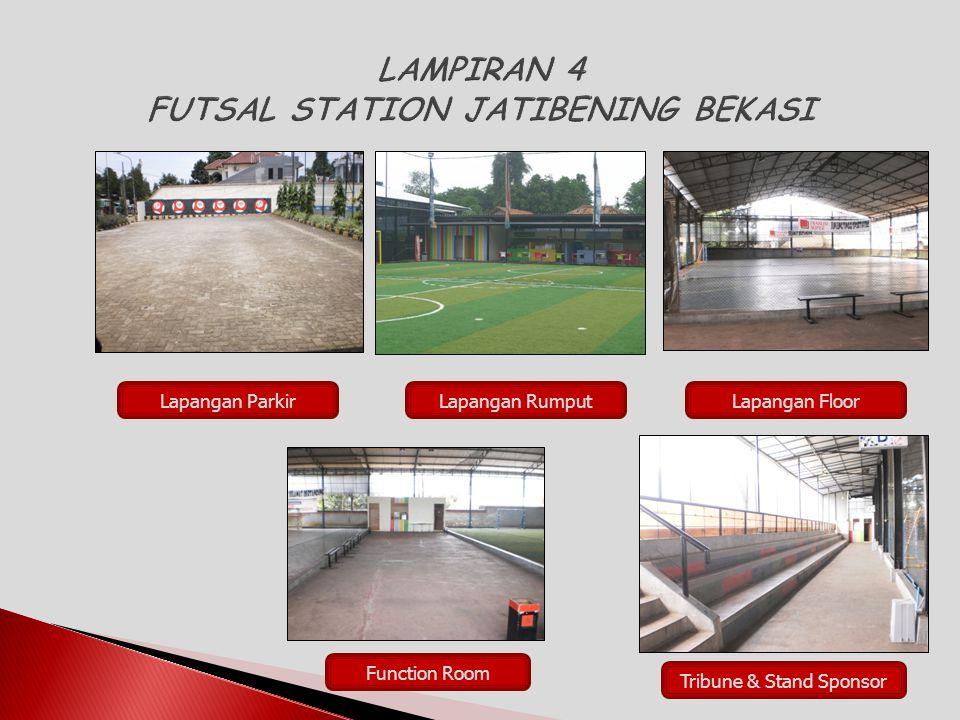 LAMPIRAN 4 FUTSAL STATION JATIBENING BEKASI