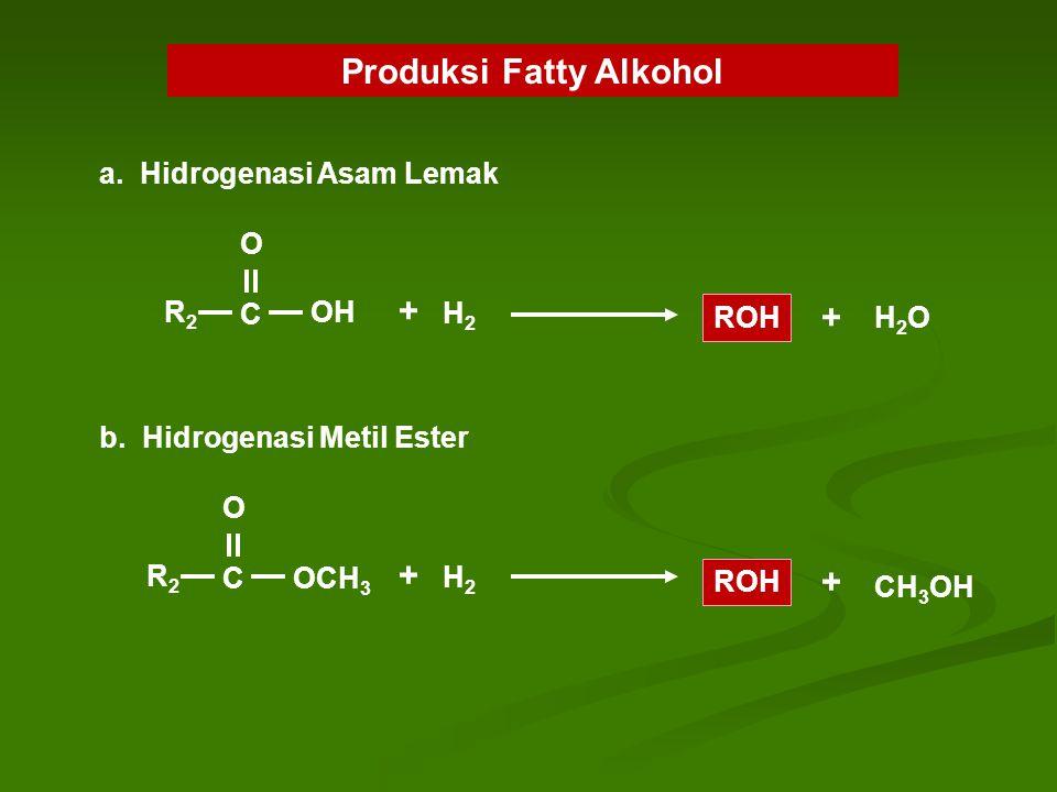 Produksi Fatty Alkohol