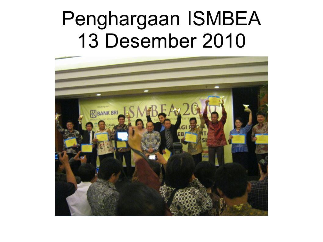 Penghargaan ISMBEA 13 Desember 2010
