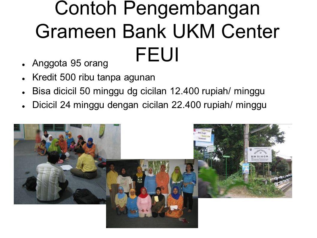 Contoh Pengembangan Grameen Bank UKM Center FEUI