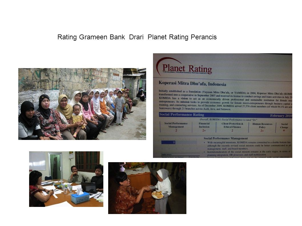 Rating Grameen Bank Drari Planet Rating Perancis