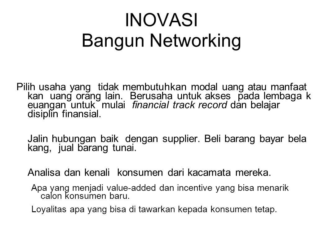 INOVASI Bangun Networking