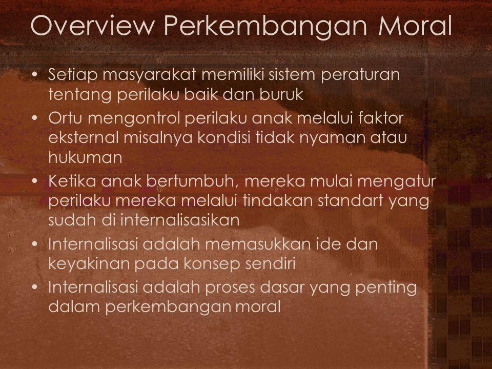 Overview Perkembangan Moral