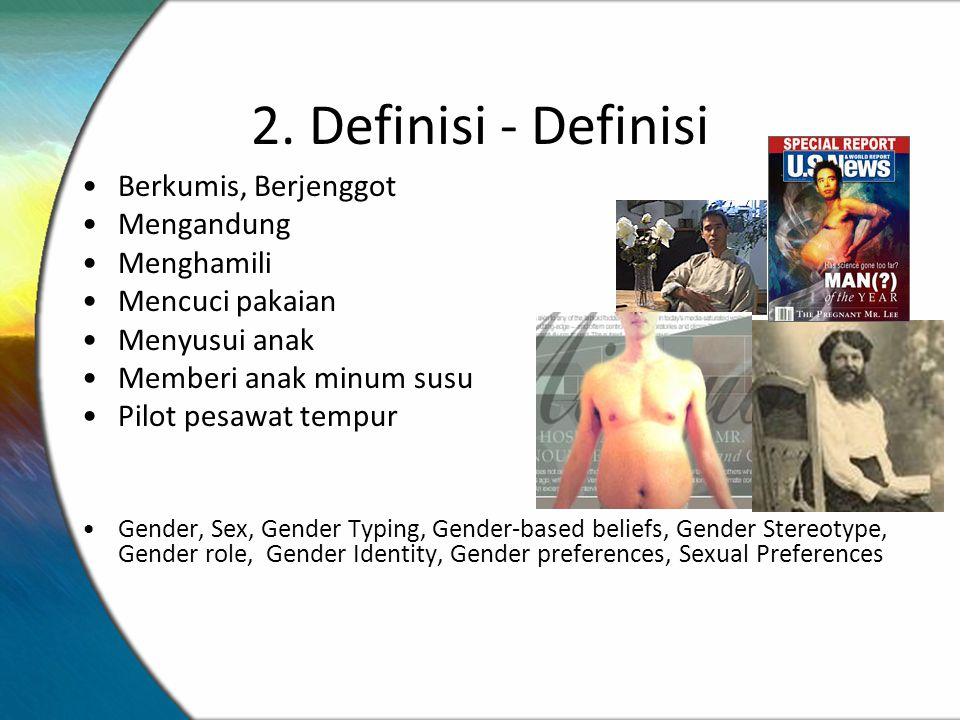 2. Definisi - Definisi Berkumis, Berjenggot Mengandung Menghamili