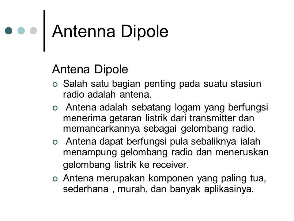 Antenna Dipole Antena Dipole