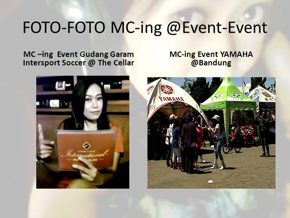 FOTO-FOTO MC-ing @Event-Event
