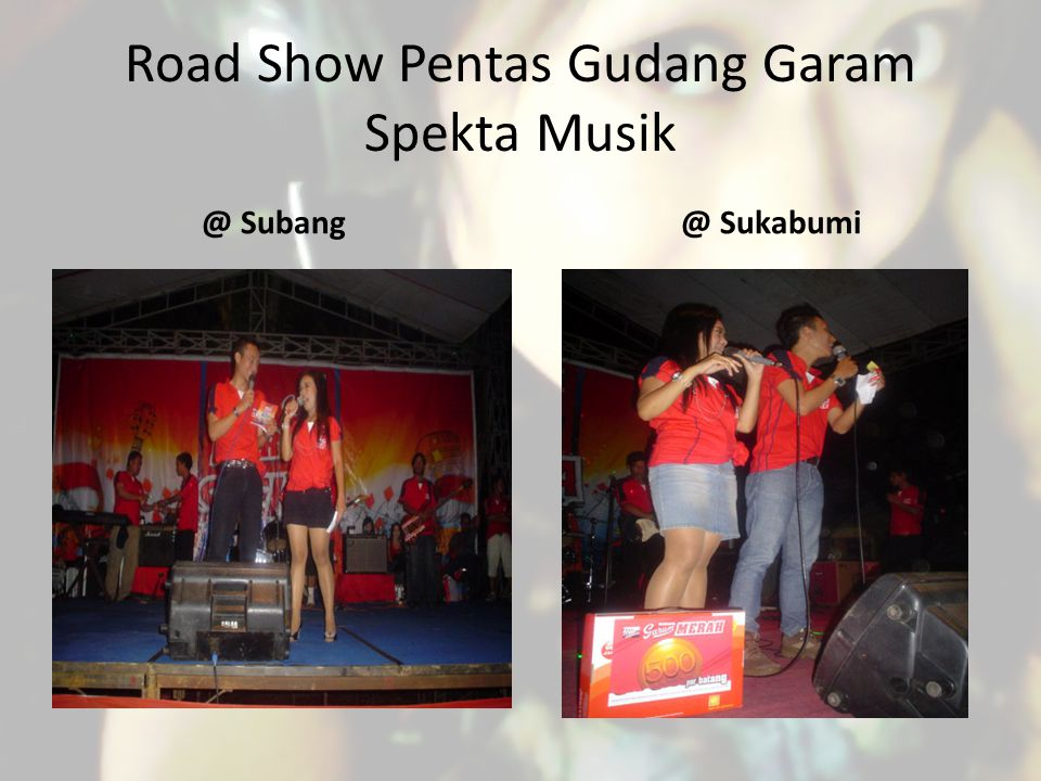 Road Show Pentas Gudang Garam Spekta Musik