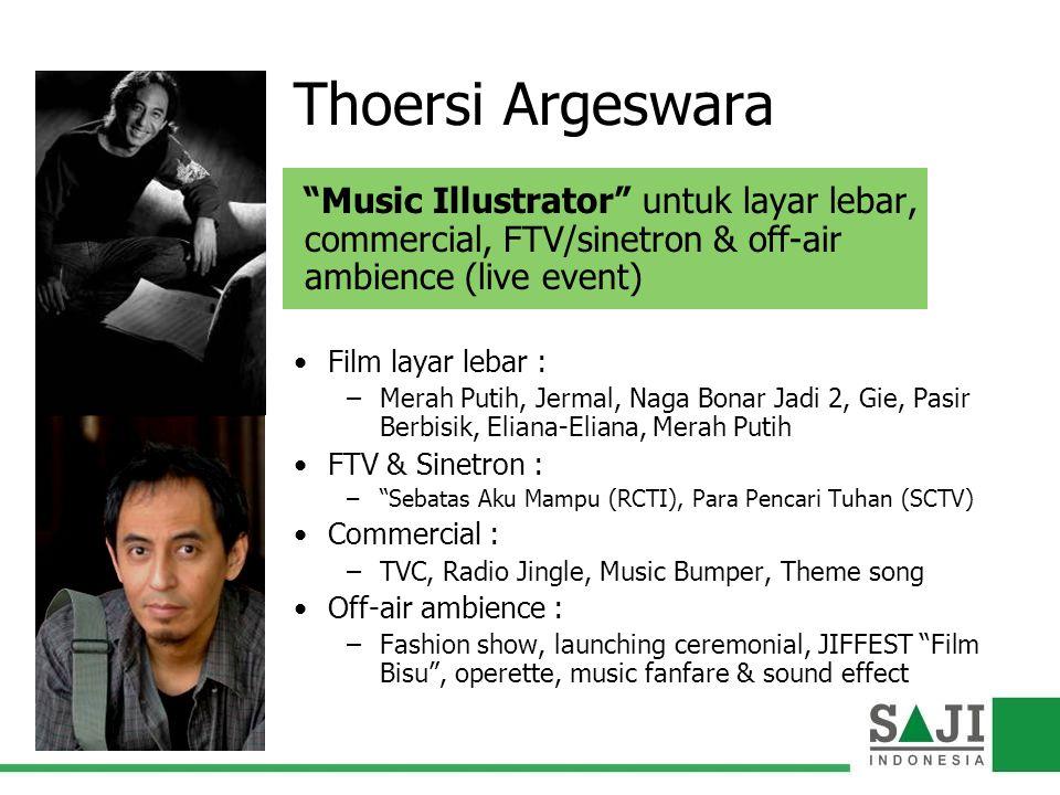 Thoersi Argeswara Music Illustrator untuk layar lebar,