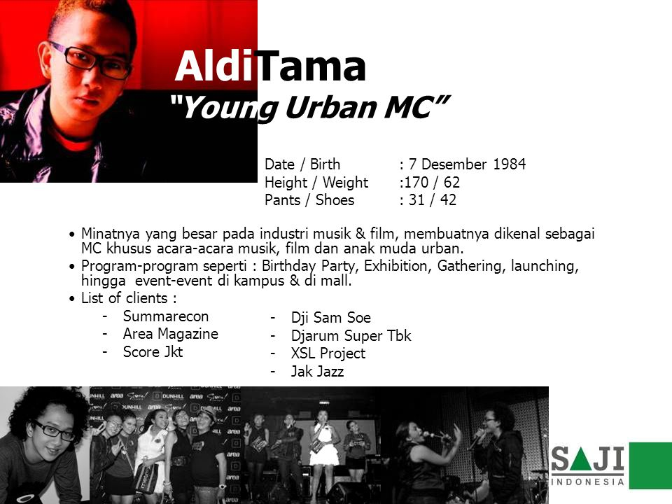 AldiTama Young Urban MC
