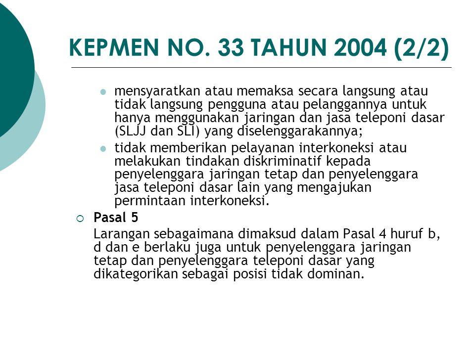 KEPMEN NO. 33 TAHUN 2004 (2/2)