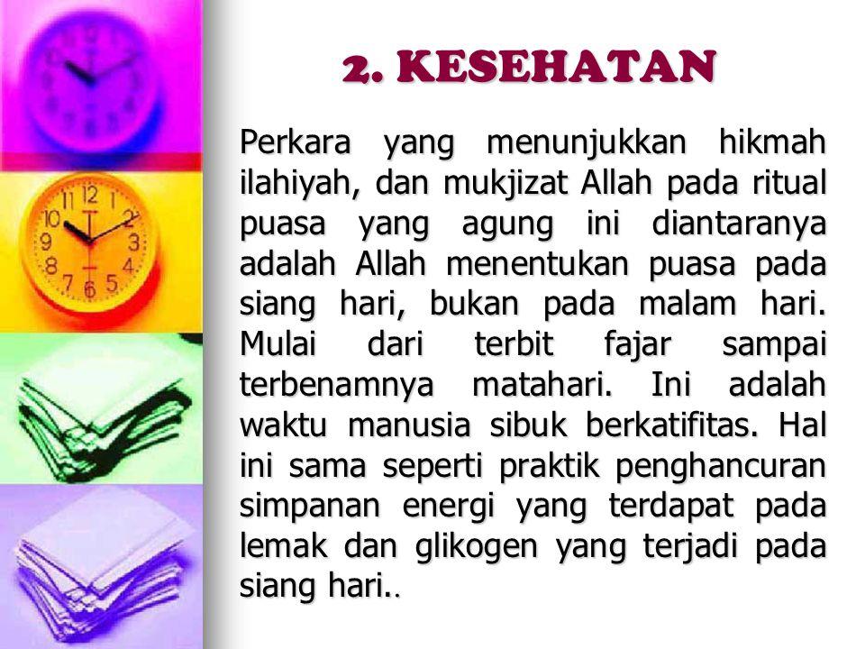 2. KESEHATAN