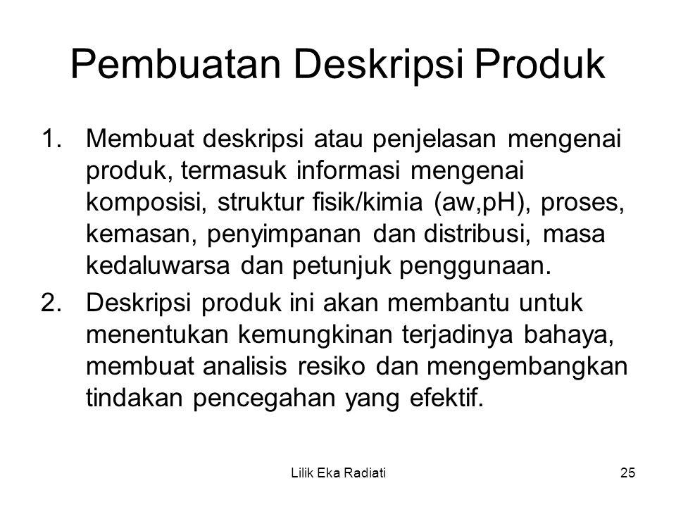 Pembuatan Deskripsi Produk