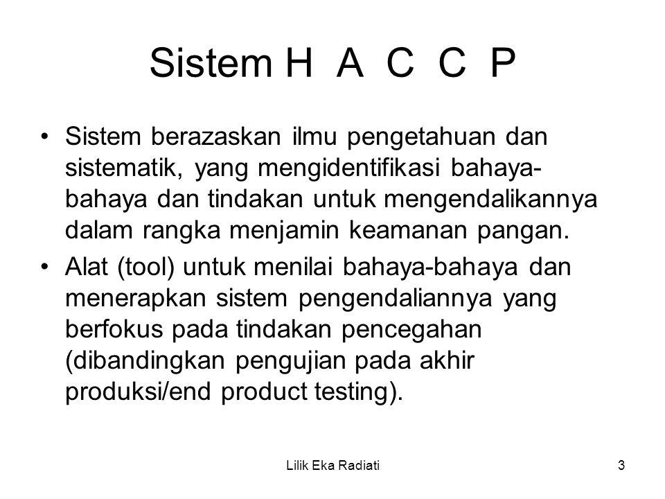 Sistem H A C C P