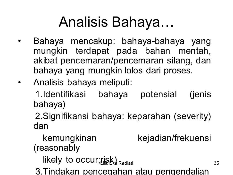 Analisis Bahaya…