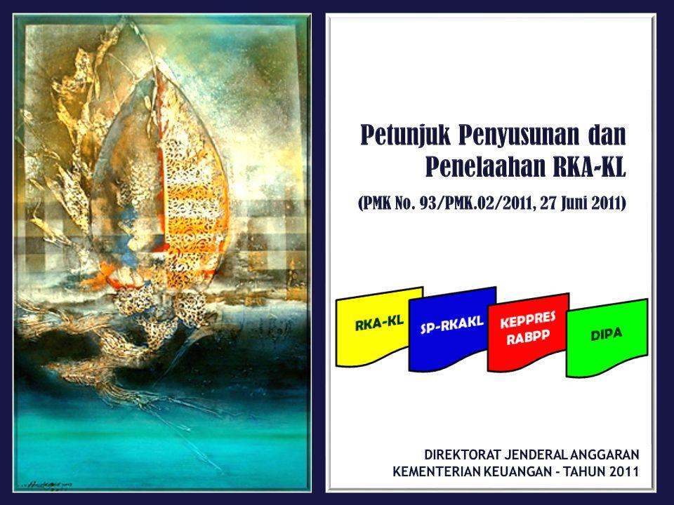 Petunjuk Penyusunan dan Penelaahan RKA-KL