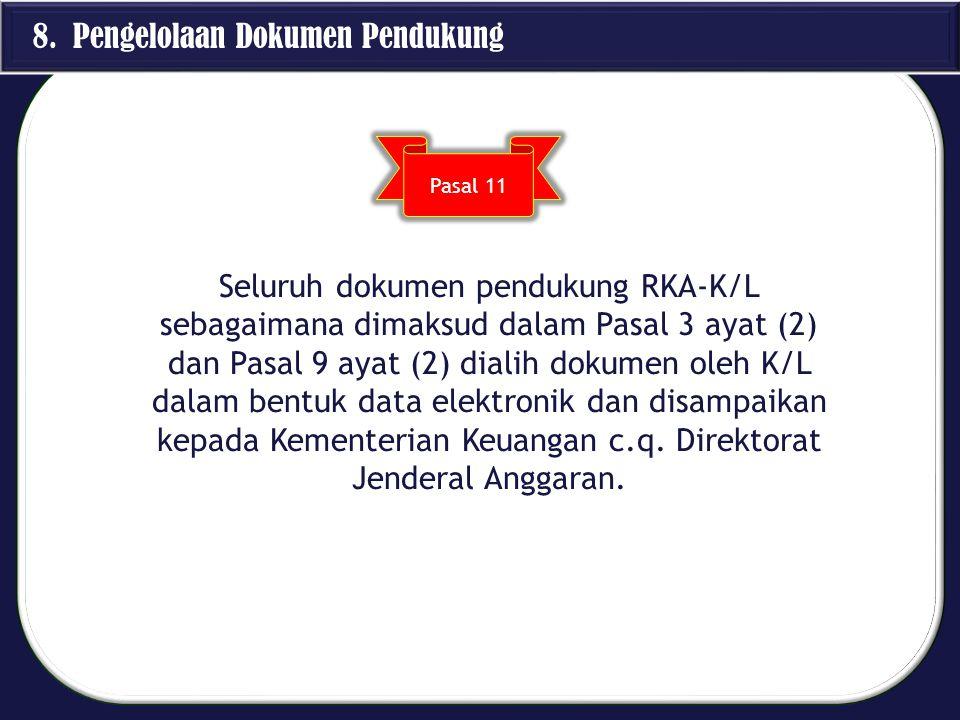 8. Pengelolaan Dokumen Pendukung