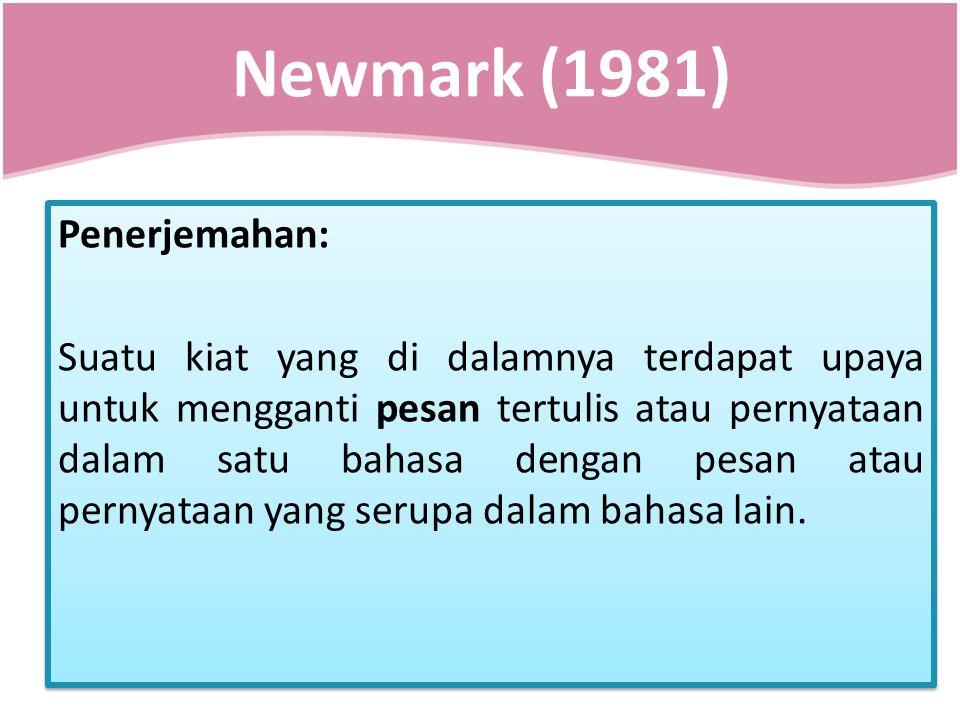 Newmark (1981)