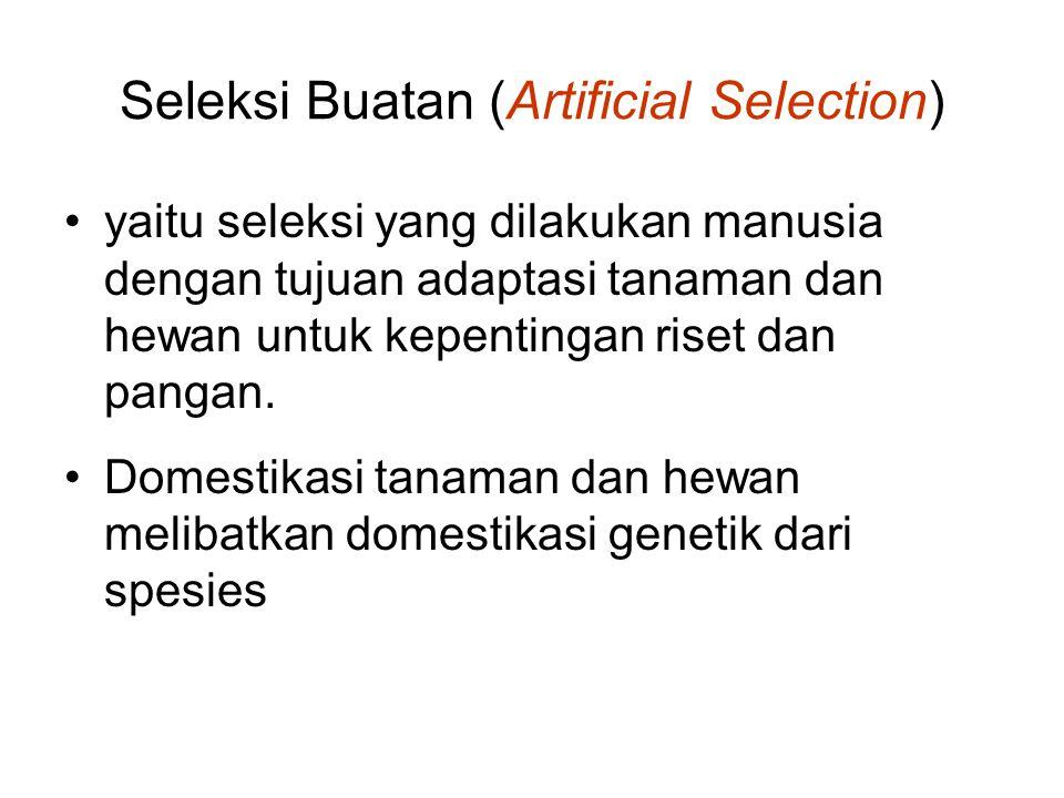 Seleksi Buatan (Artificial Selection)
