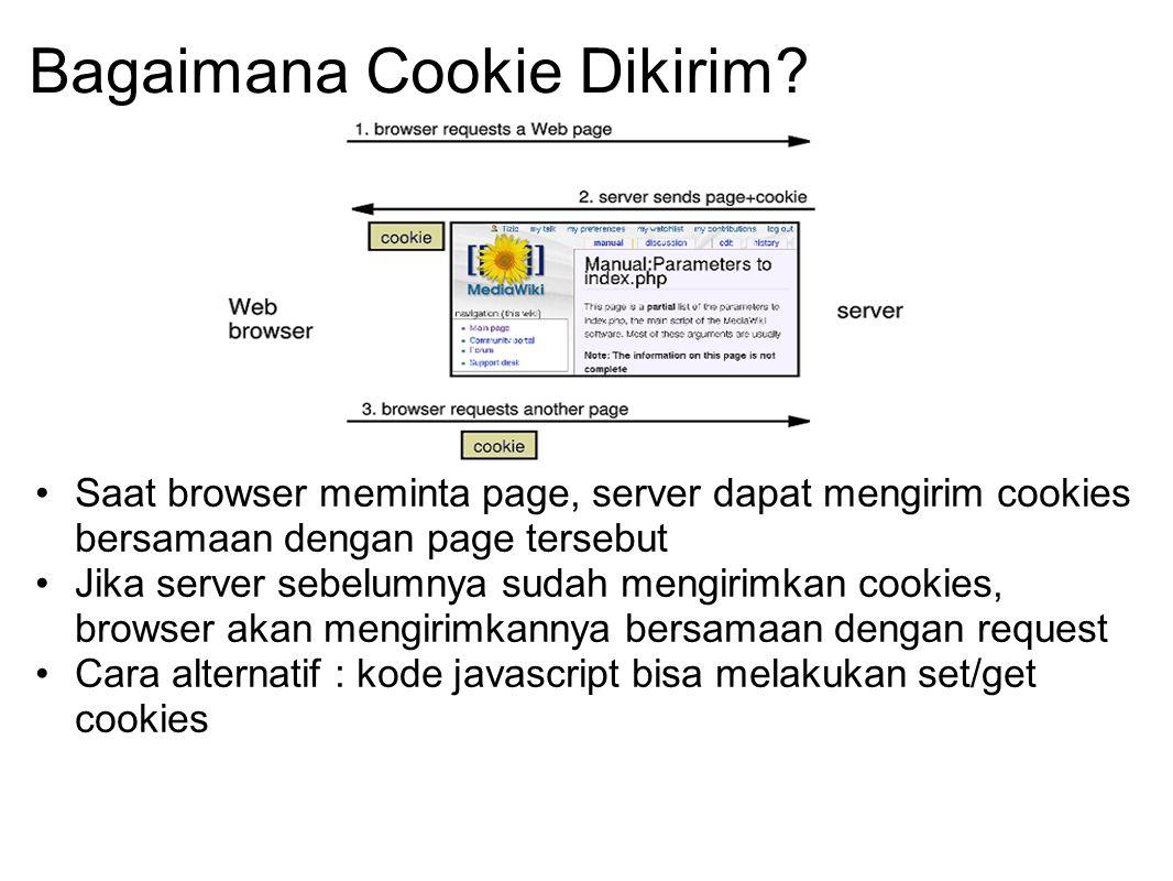 Bagaimana Cookie Dikirim
