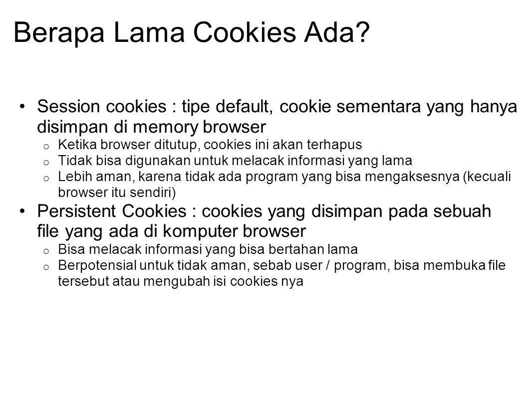 Berapa Lama Cookies Ada