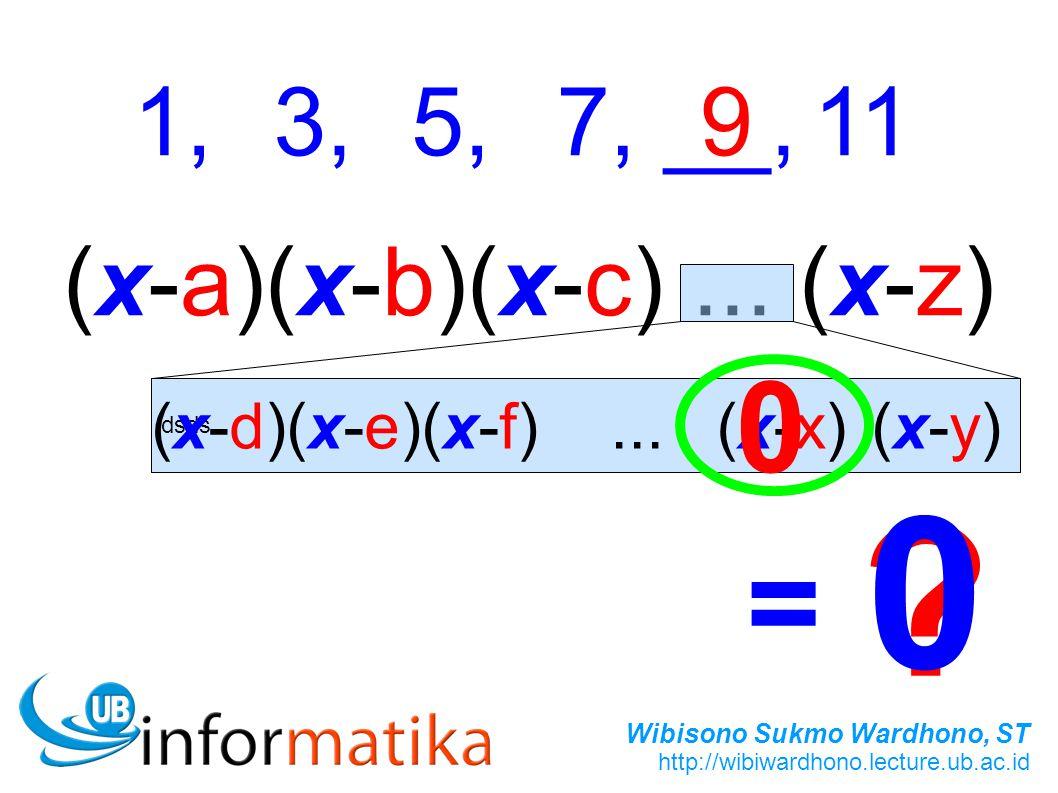(x-a)(x-b)(x-c) ... (x-z)