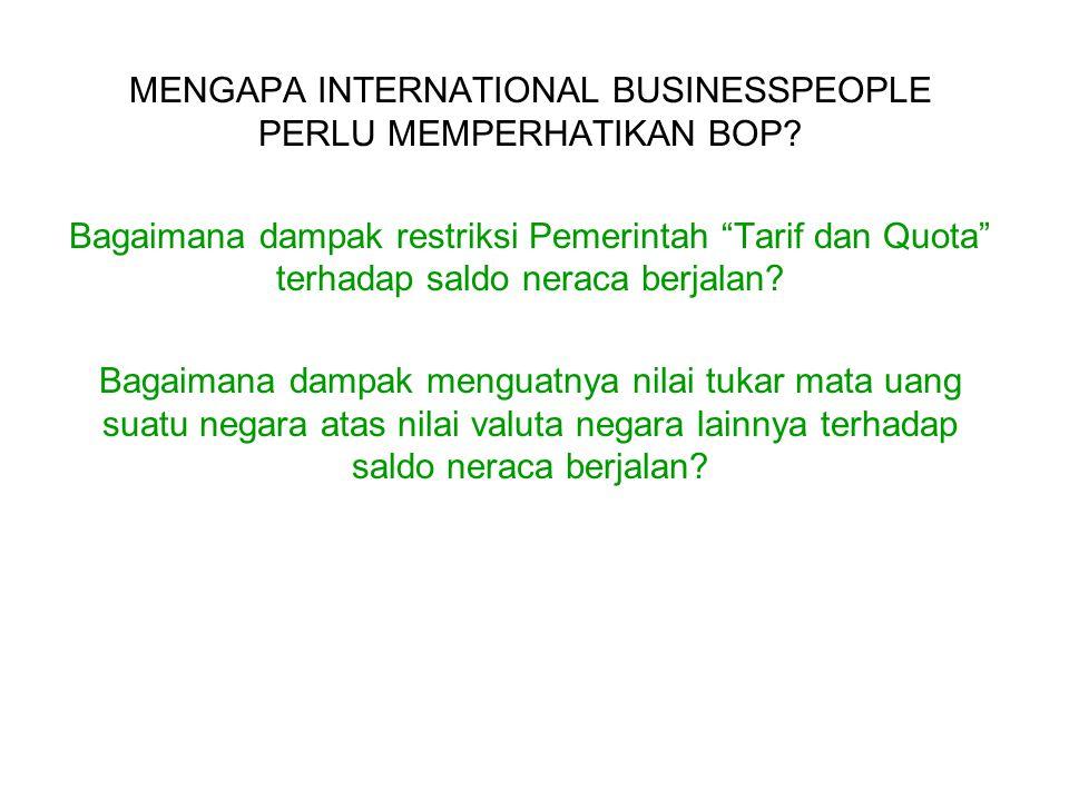 MENGAPA INTERNATIONAL BUSINESSPEOPLE PERLU MEMPERHATIKAN BOP