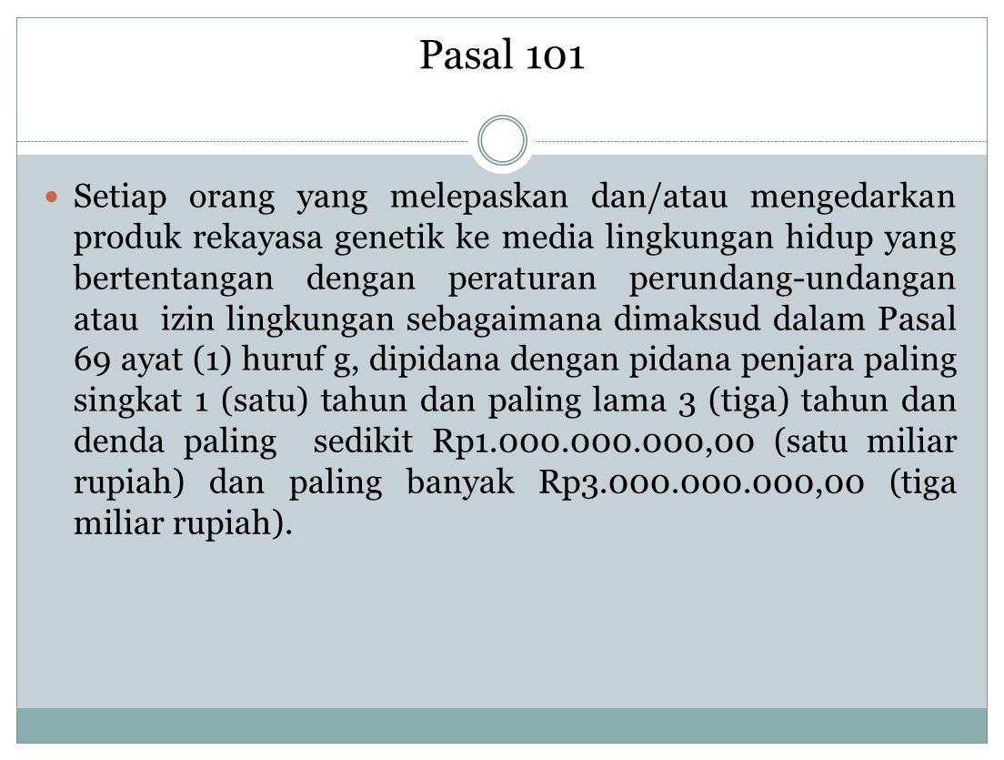 Pasal 101
