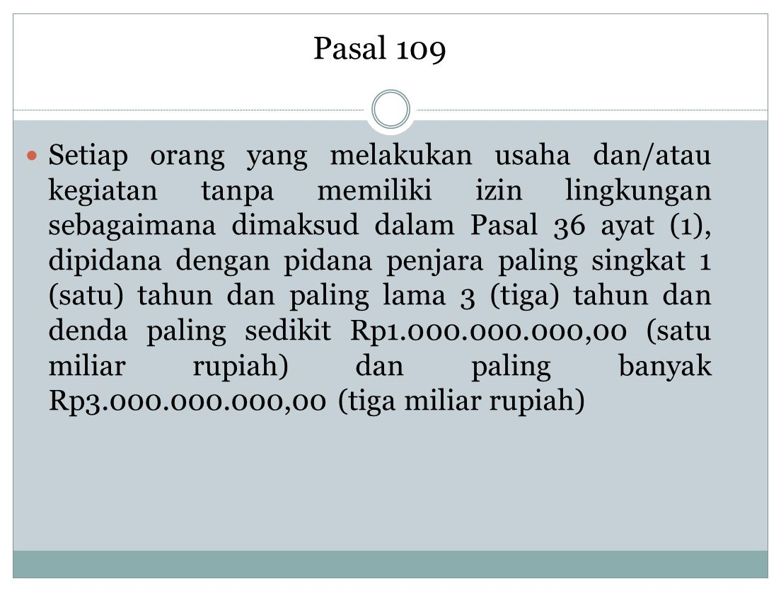 Pasal 109