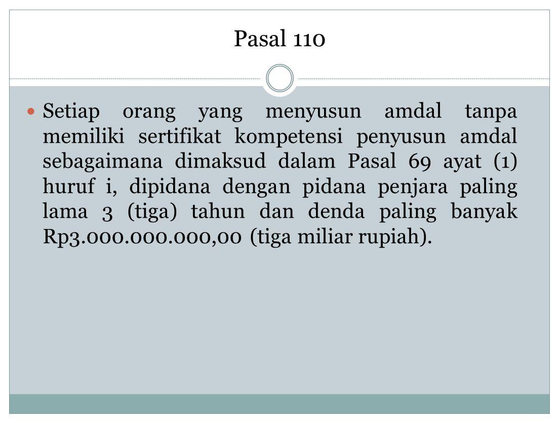 Pasal 110