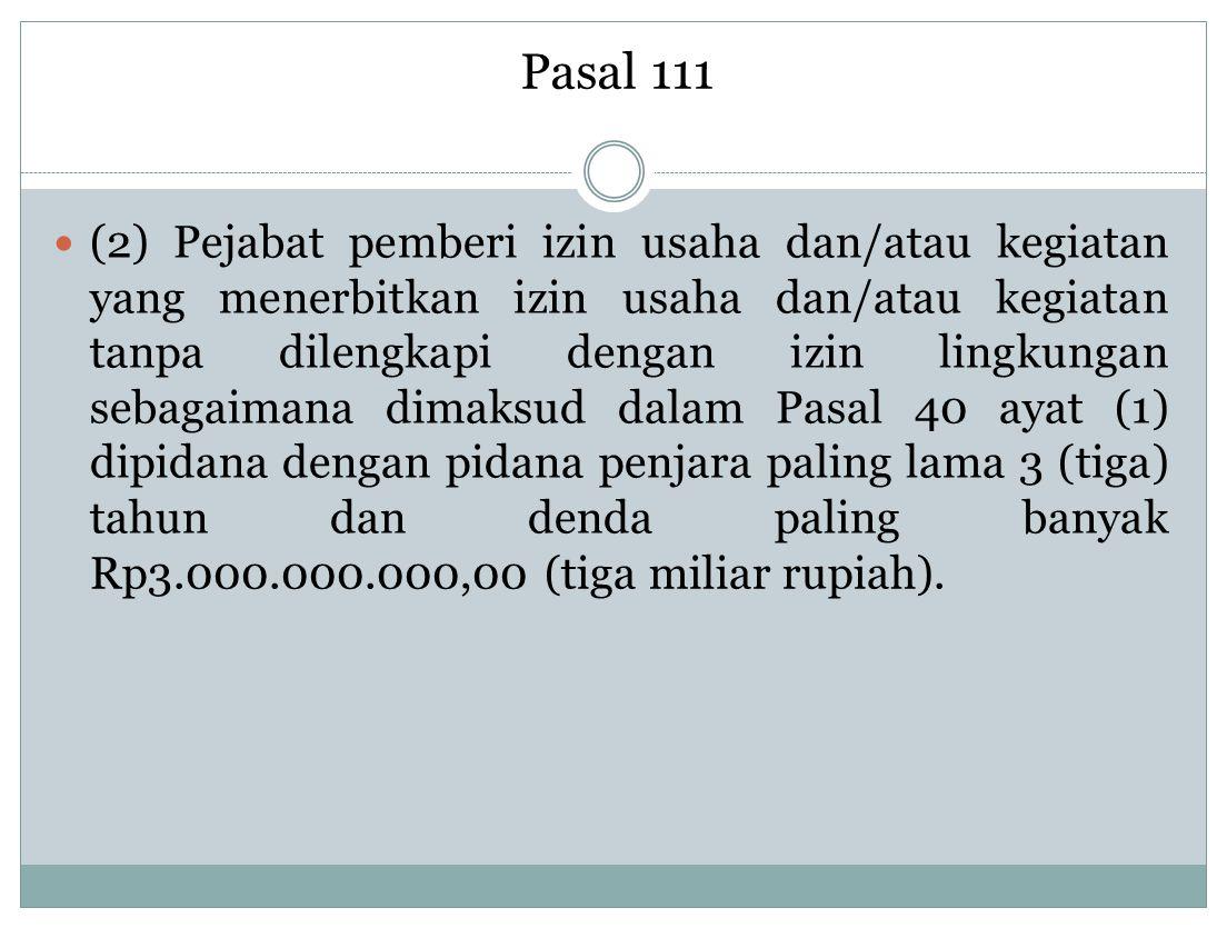 Pasal 111