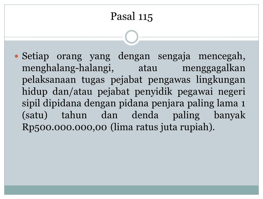 Pasal 115