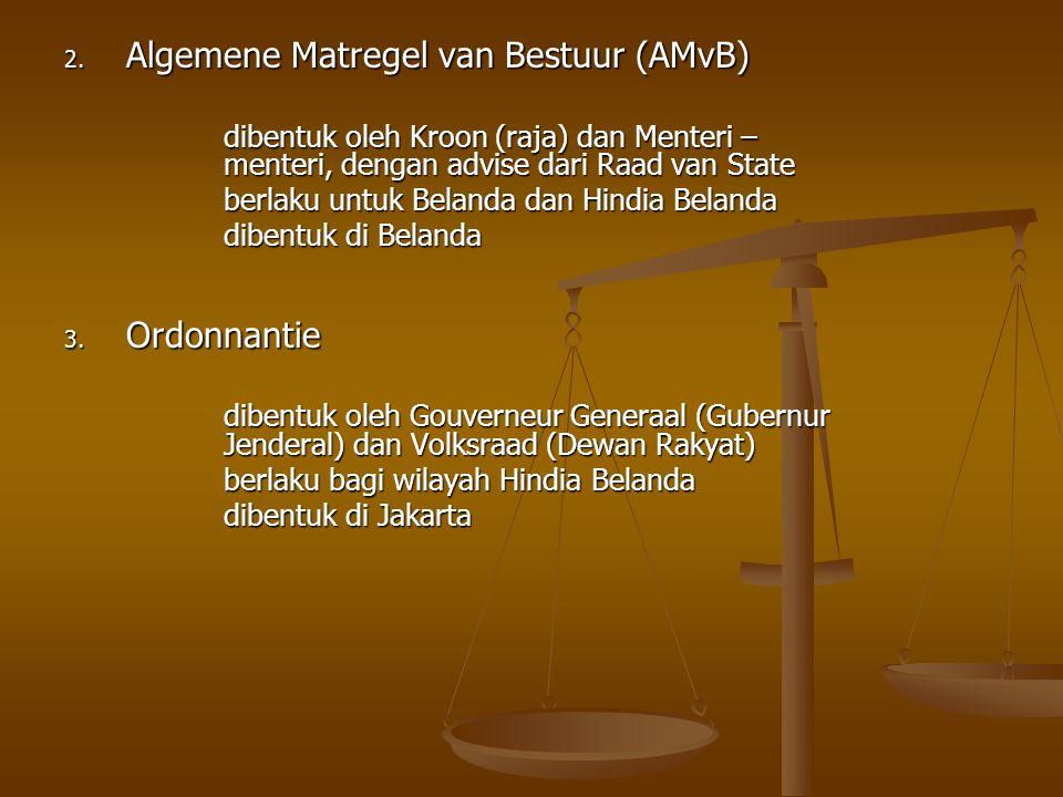 Algemene Matregel van Bestuur (AMvB)