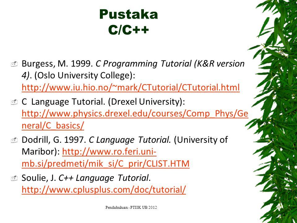 Pustaka C/C++