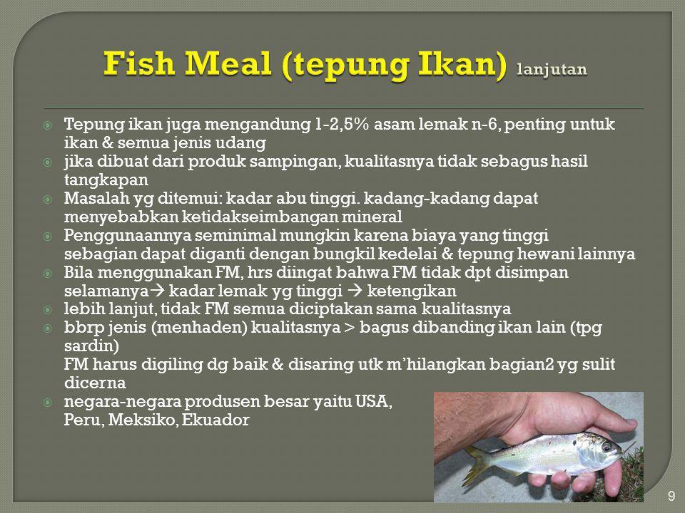 Fish Meal (tepung Ikan) lanjutan