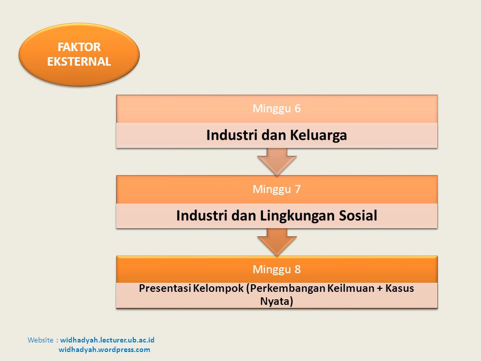 Industri dan Keluarga Industri dan Lingkungan Sosial