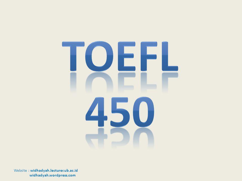 Toefl 450