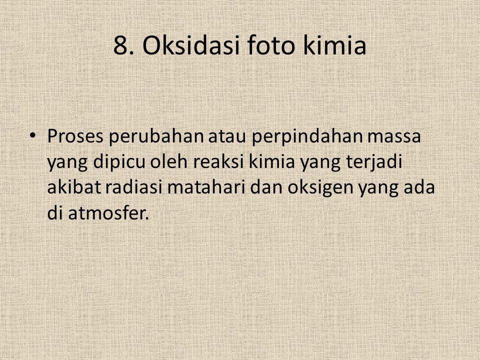 8. Oksidasi foto kimia