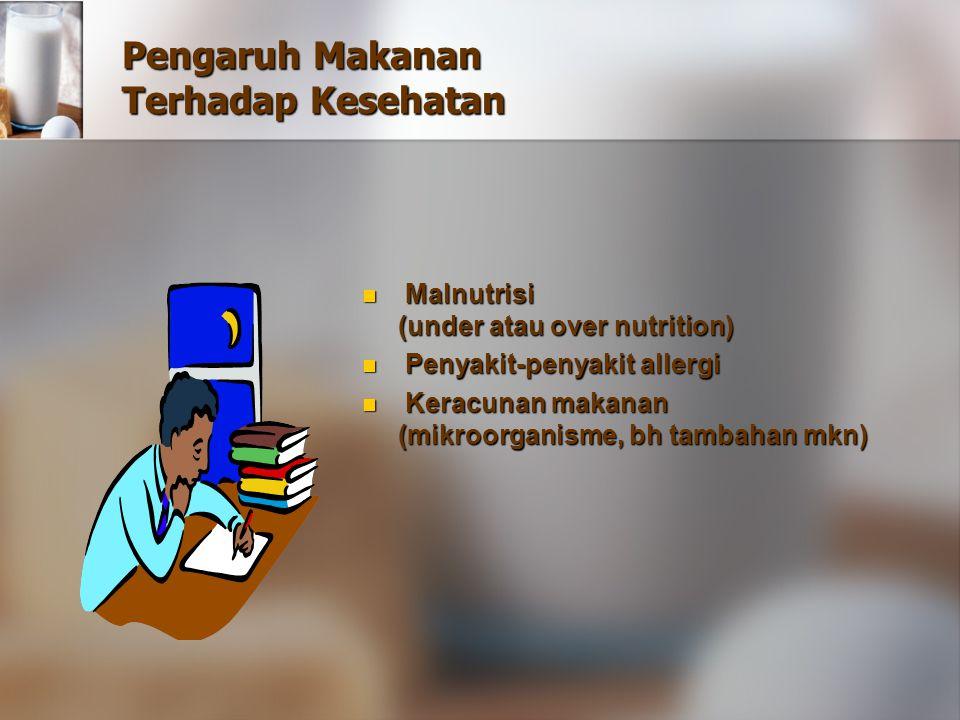 Pengaruh Makanan Terhadap Kesehatan