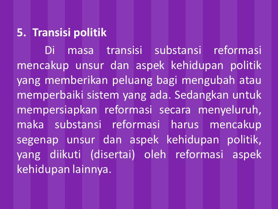 Transisi politik