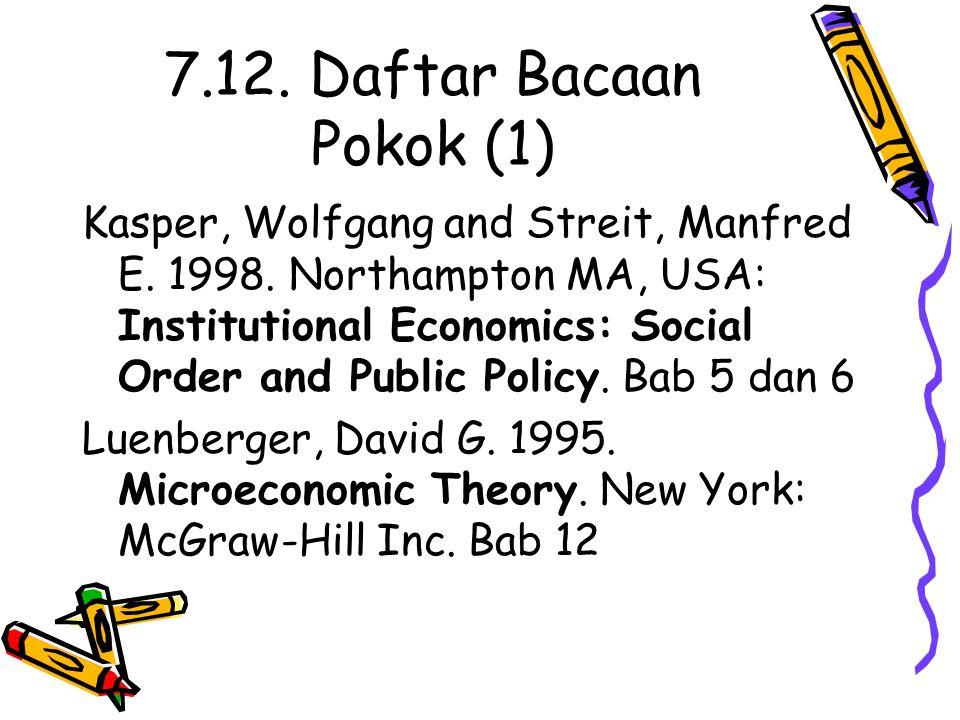 7.12. Daftar Bacaan Pokok (1)