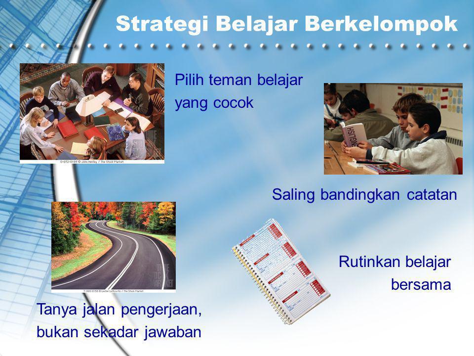 Strategi Belajar Berkelompok