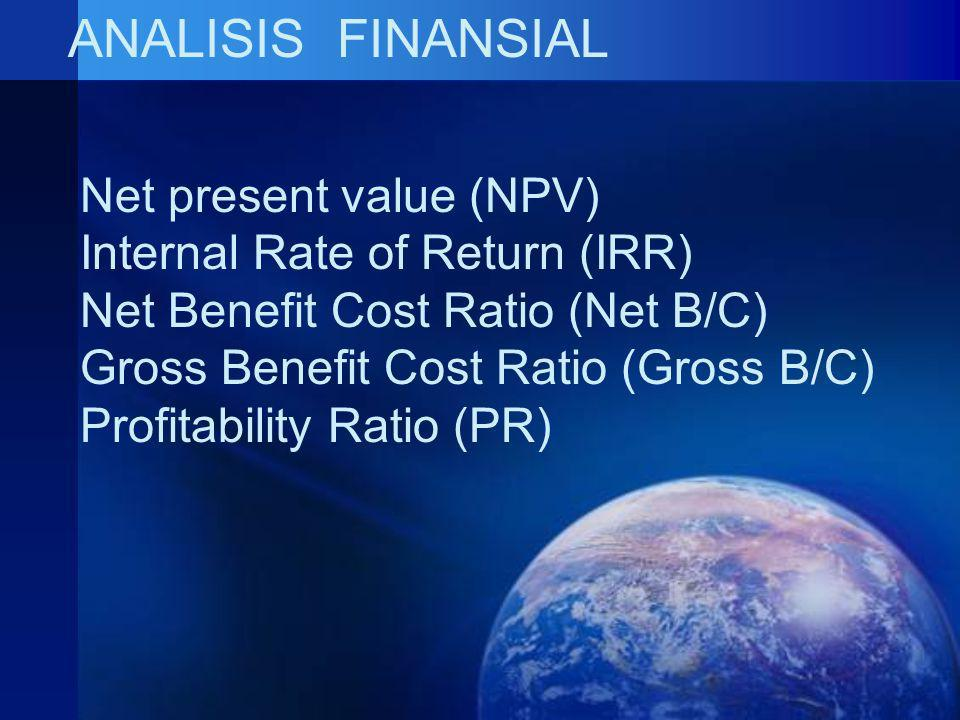 ANALISIS FINANSIAL Net present value (NPV)