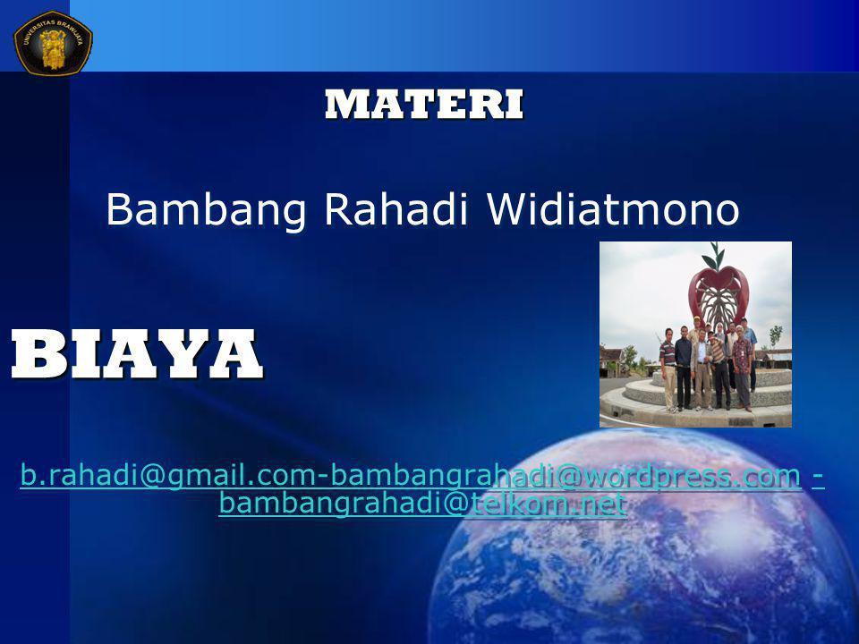 Bambang Rahadi Widiatmono