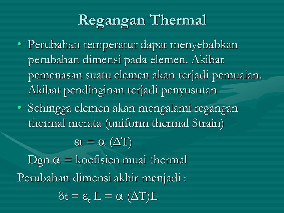 Regangan Thermal