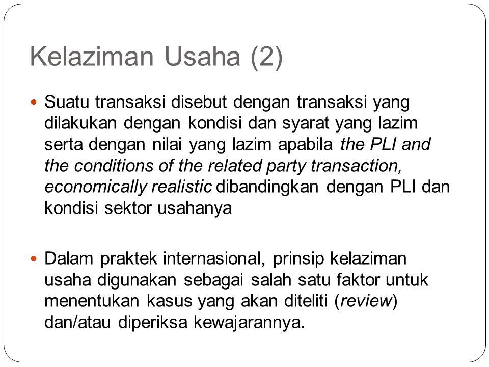 Kelaziman Usaha (2)