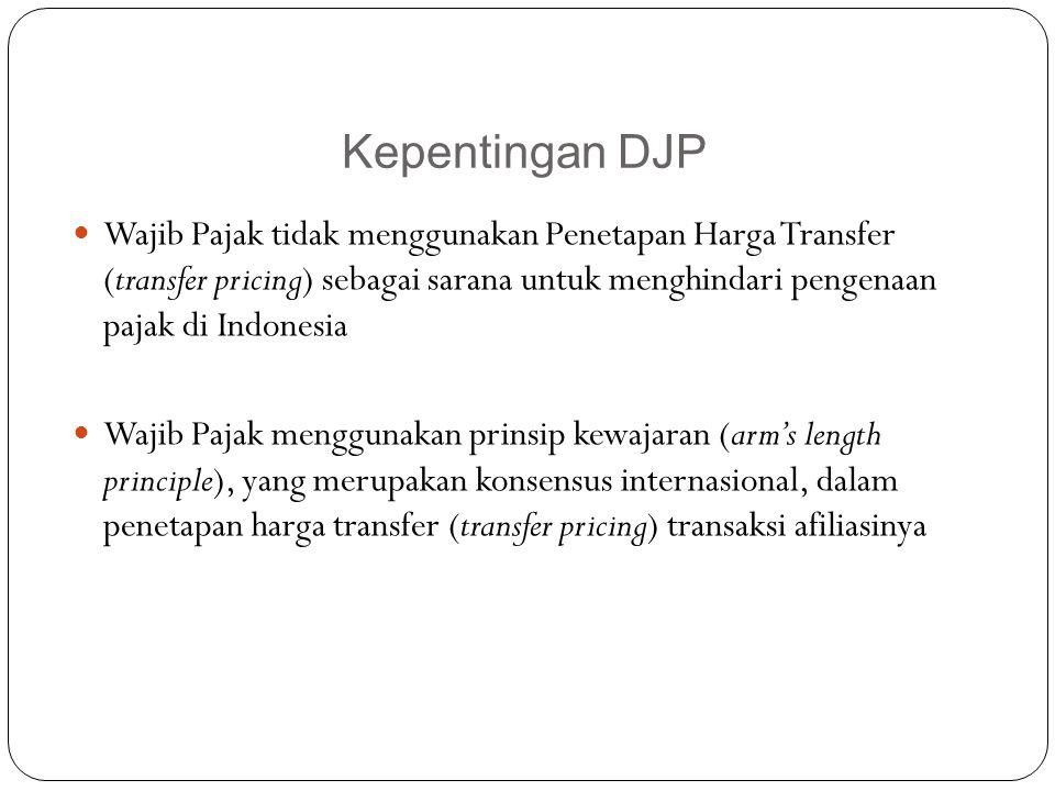Kepentingan DJP