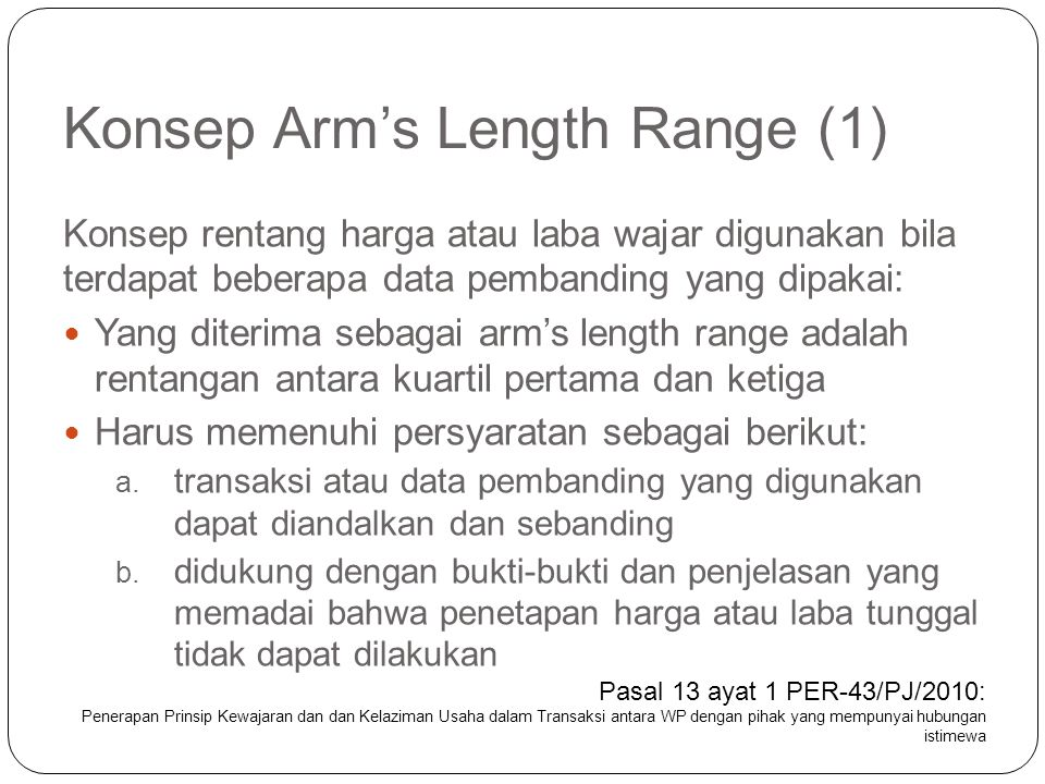 Konsep Arm's Length Range (1)