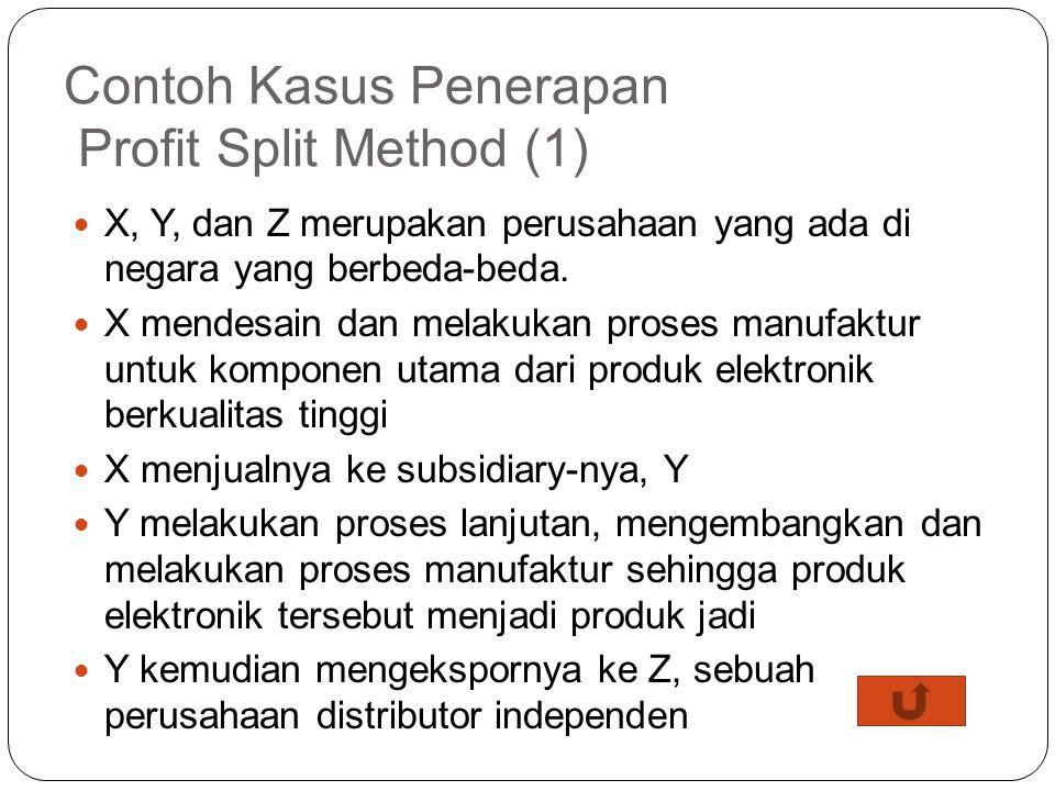 Contoh Kasus Penerapan Profit Split Method (1)