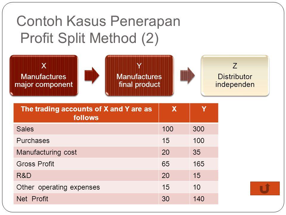Contoh Kasus Penerapan Profit Split Method (2)